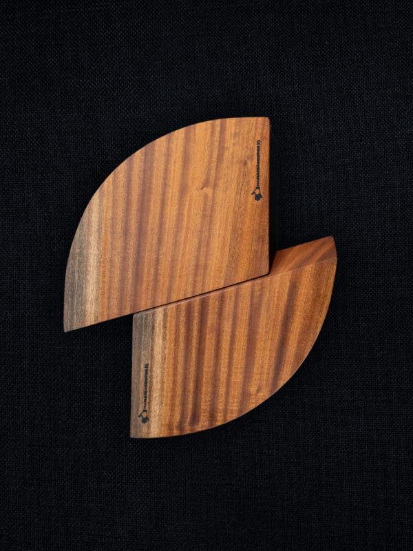 Planche à découper en sapelli