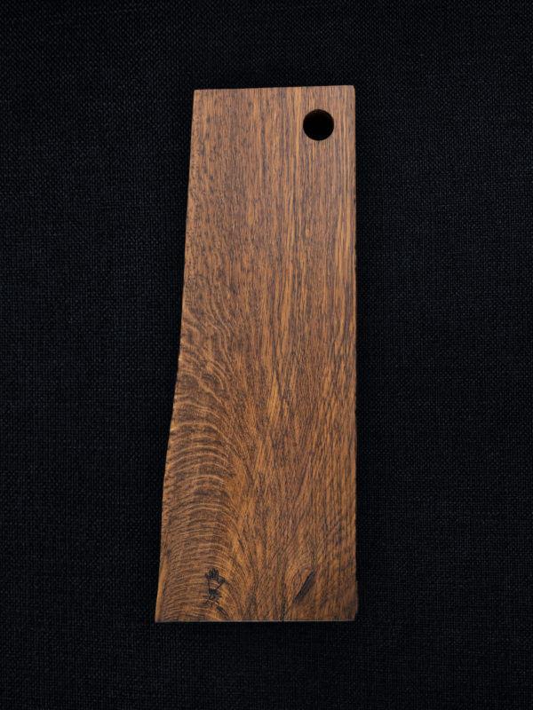 Planche à découper le saucisson en bois de chêne massif