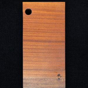 Planche à découper en sapelli popette