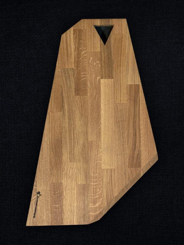 Planche à découper en chêne abouté