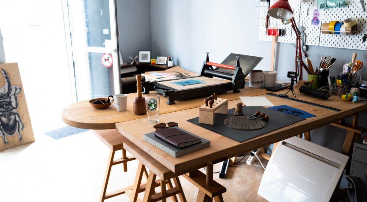Atelier d'artiste Atelier de Cadet Roussel à Remiremont dans les Vosges